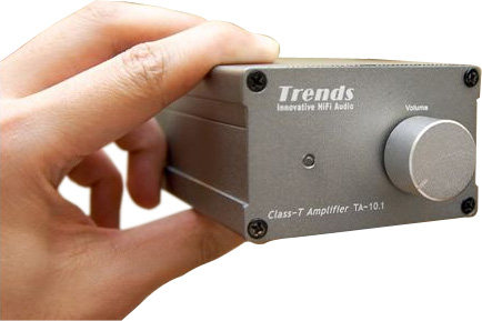 Trends Audio TA-10.1 vista frontale - front view